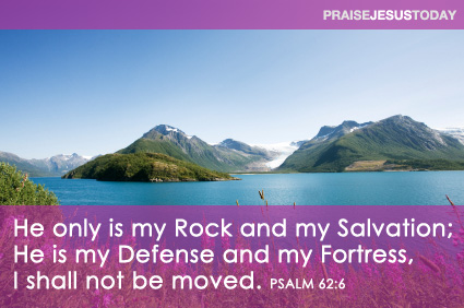 He Is My Rock and My Salvation