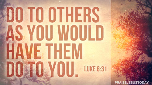 Do Unto Others As They Have Done Unto You